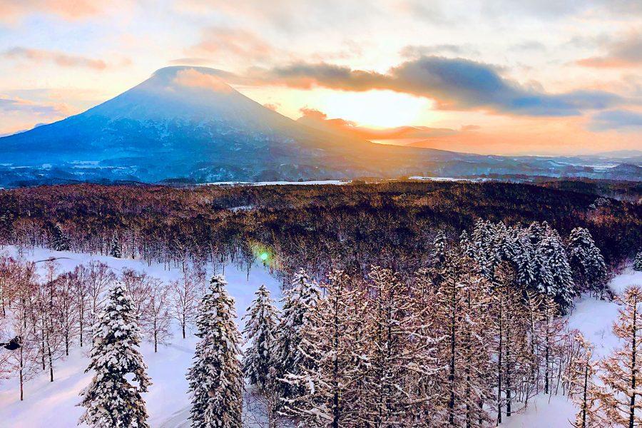Niseko Hokkaido Japan Snowballing